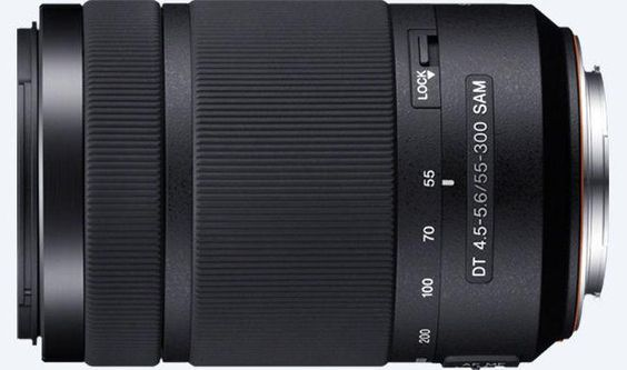 Sony, SAL55300, 55-300mm, f/4.5-5.6 SAM Telephoto Lens, Camera Lens
