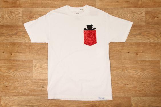 Grizzly Griptape Tie Dye Pt.2 Pocket Tee White £34.95