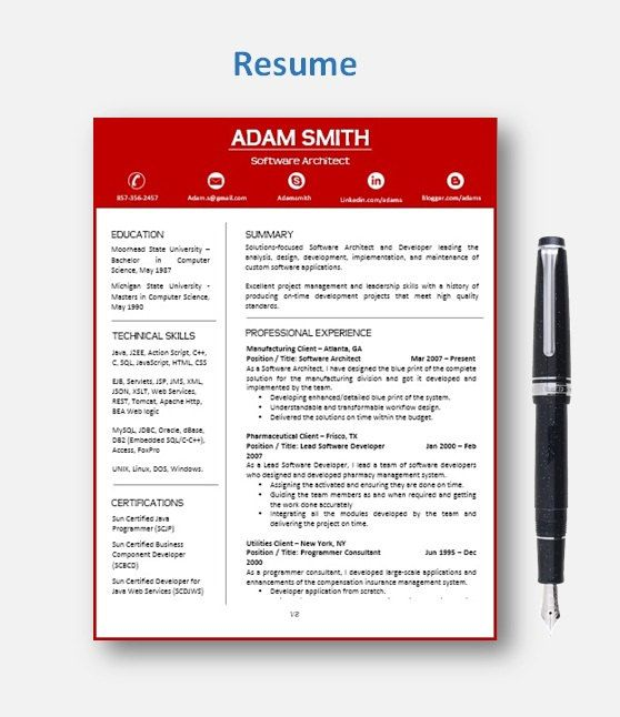 Resume Template | CV Template with add-on for extra pages, Cover and Reference Letters in Word format | Instant Digital Download | Mac or Pc by ResumeEnhancer on Etsy