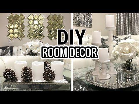 Diy Dollar Tree Bling Storage Box Diy Glam Home Decor Youtube