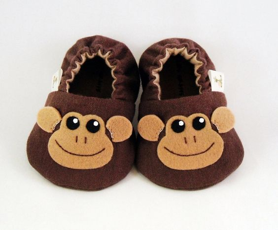 Baby Booties Newborn Infant Baby Slippers от CharliesGiraffe