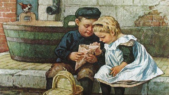 Dutch illustrator Cornelis Jetses (1873-1951)