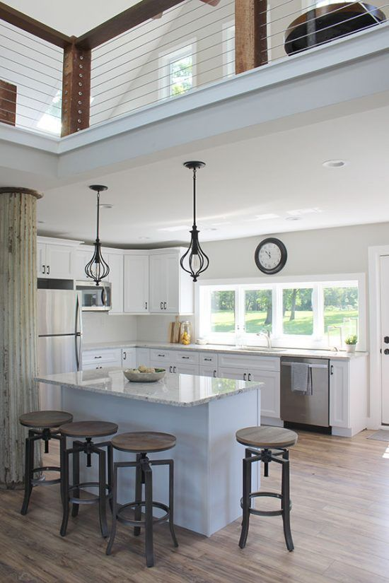 Converted Barn House Tour The Honeycomb Home Kitchen Design Countertops Interior Design Kitchen Small Farmhouse Kitchen Countertops