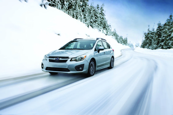 2012 subaru impreza limited review