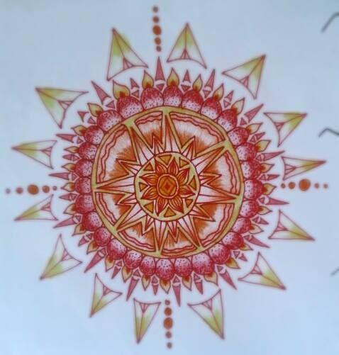 mandala #illustration #drawing #nanquim