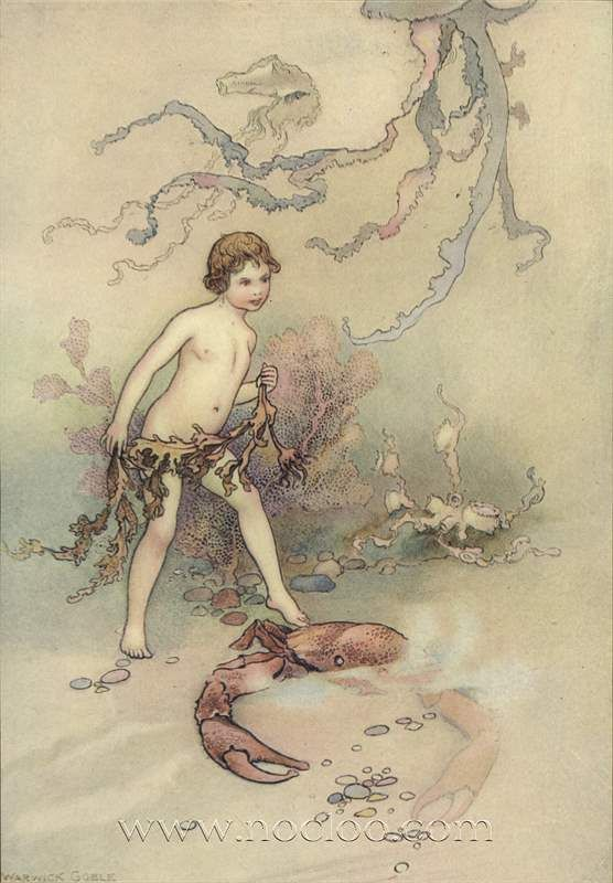 Warwick Goble Illustrations From The Water Babies 1909 With