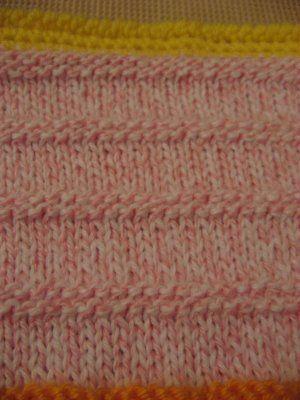 Knitting Pattern Garter Stitch Afghan : Knit - Garter Stitch pattern for baby blanket Knit (and ...