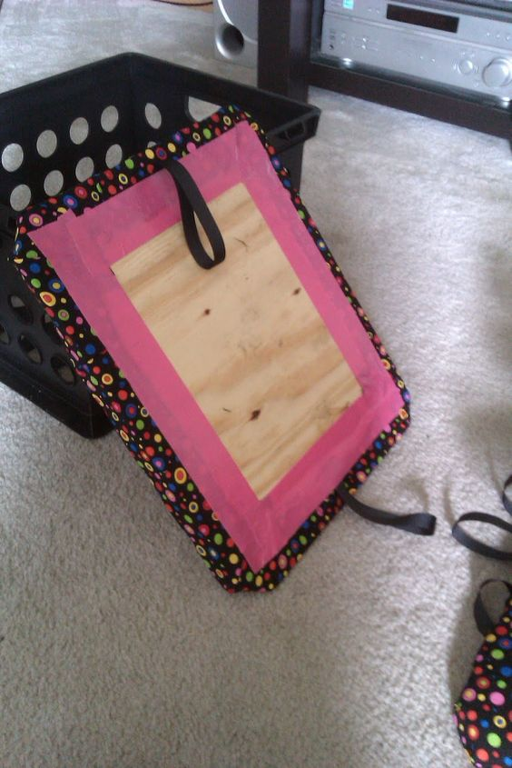 Crate Seats--good step-by-step instructions on this blog! @Allie Crain