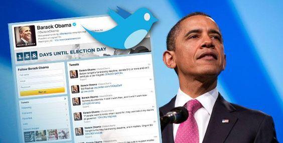 LA BLAGUE DU JOUR. Réseaux sociaux: Barack @thomas halbert suit des actrices porno sur Twitter