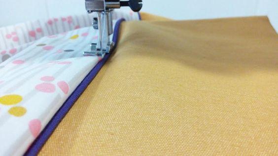 Clase de costura: coser un vivo