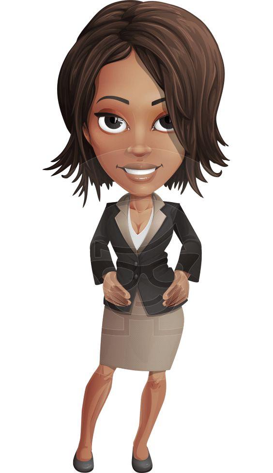 Lady Cartoon Characters : Kim the office lady ilustrações pinterest