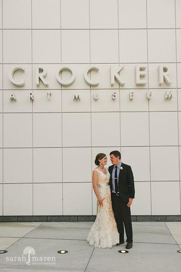 Crocker Art Museum Wedding Photos - Sarah Maren Photographers
