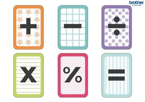 Smart image inside algebra flashcards printable