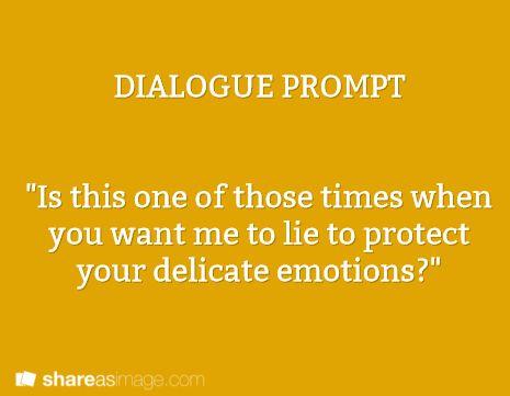 lie fragile emotions
