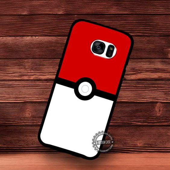 Poke Ball Wallpaper iPhone 4/5/SE Cases Samsung Galaxy S5/S6/S7 Edge NOTE 5 4 3 #pokemon #yn
