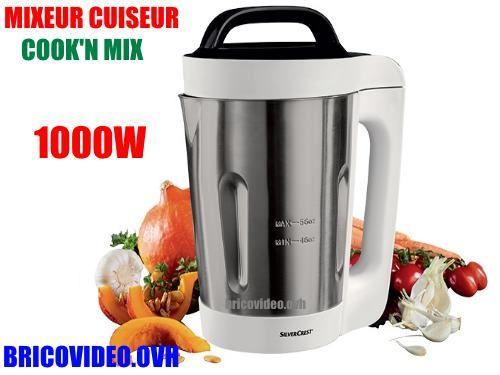 notice mixeur cuiseur silvercrest skm