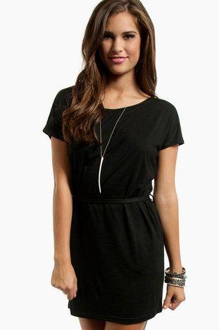 Tammy T-Shirt Dress $25 at www.tobi.com