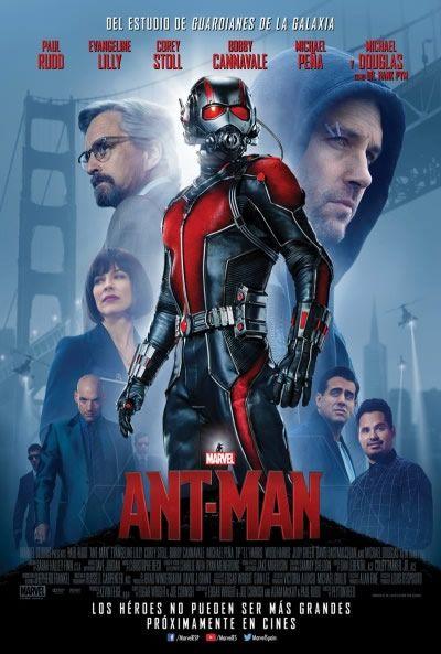 Crítica de Ant-Man - Valoración 3.5 sobre 5 #marvel