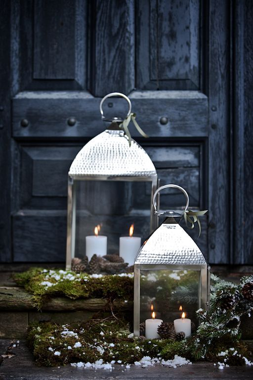 Christmas decorations - outdoor lanterns