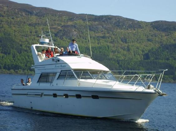 Come and join us for a cruise on 'Nessie Hunter' - Our Loch Ness Underwater Research Vessel! -