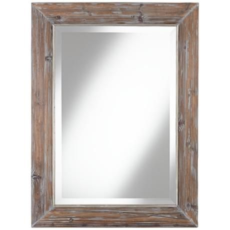 Darrington 30 x 40 wall mirror raw finish for Mirror 48 x 60