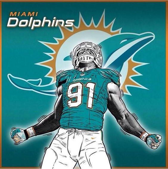 Kids 2014 New Miami Dolphins 91 Cameron Wake Green Jersey