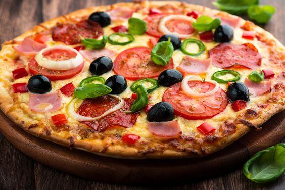 #comida Una buena #receta para hacer una #pizza #casera