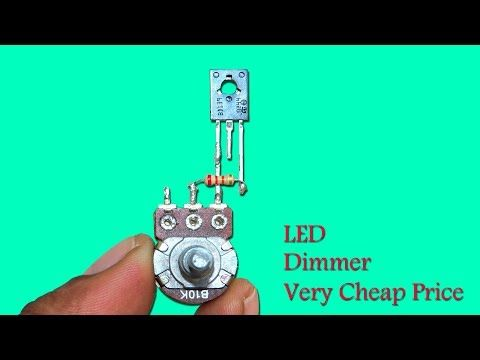 Led Potenciometro Led Dimmer Led 12v Led