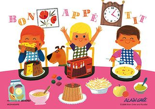 Alain Gree - Bon Appetit 300 Micro Piece Jigsaw Puzzle featured on Jzool.com: