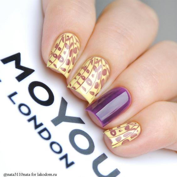 Плитка для стемпинга MoYou London Kitty 14 - купить с доставкой по Москве, CПб и всей России.