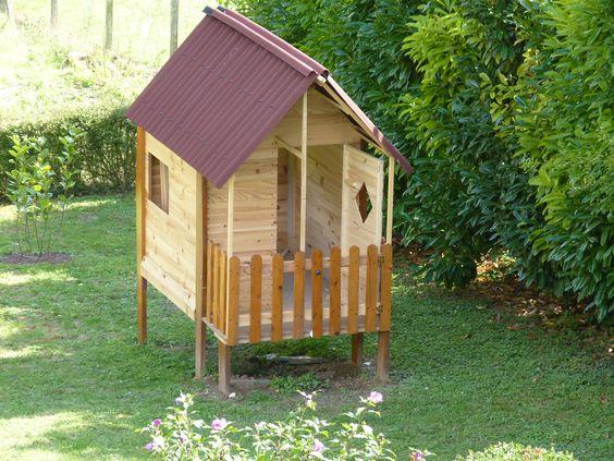 cabane de jardin pour enfant en bois de r cup 39 bosch jouets et bricolages enfants. Black Bedroom Furniture Sets. Home Design Ideas
