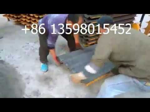 Good Price Cement Roof Tile Machine Concrete Big Tile Making Machine For Roof Tiles Building Roof Making Machine