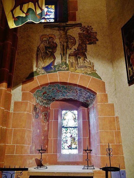 Orschwiller Hohkönigsburg Innen Kapelle