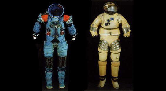 Retro Spacesuit History