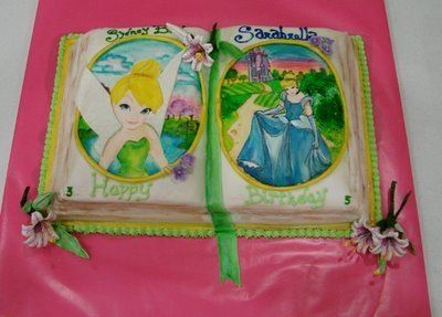 The Tale of Two Fairytales By Reimagining_Confections on CakeCentral.com
