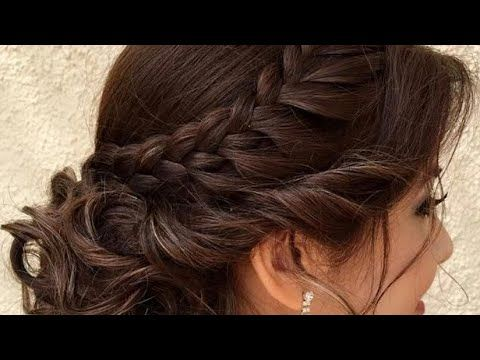 Beautiful Hairstyle For Wedding Party Function Hair Style Girl Braided Bun Hairstyles For Party Hair Alan Hair Styles Side Bun Hairstyles Easy Hairstyles