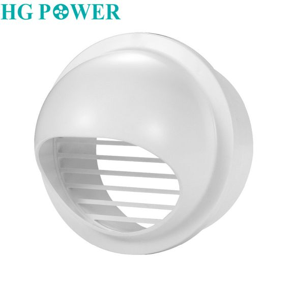 Free Ship 4 6inch Abs Round Wall Air Vent Ducting Ventilation Exhaust Grille Cover Outlet Heating Coolin Outlet Covers Heating And Cooling Household Supplies