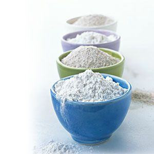 Substitute for self-rising flour: 1 Cup flour, 1 1/2 tsps. baking powder, 1/2 tsp. salt