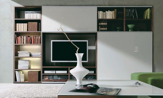 Schön Moderne Wohnwände Gruber Schlager Schiebeplatte Hochglanz Grau | Meble I  Inne ładne Rzeczy | Pinterest | Design