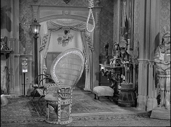 the addams family's living room was … pink!?   television set