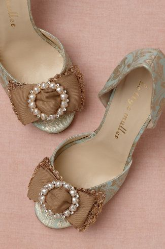 Broccato d'Orsays in SHOP Shoes & Accessories Shoes at BHLDN