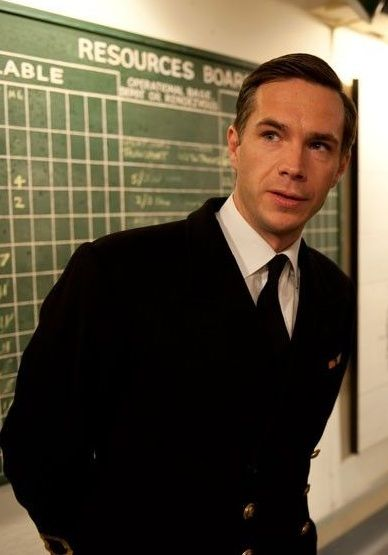 James D'Arcy as Ian Fleming at Gravesham bunker
