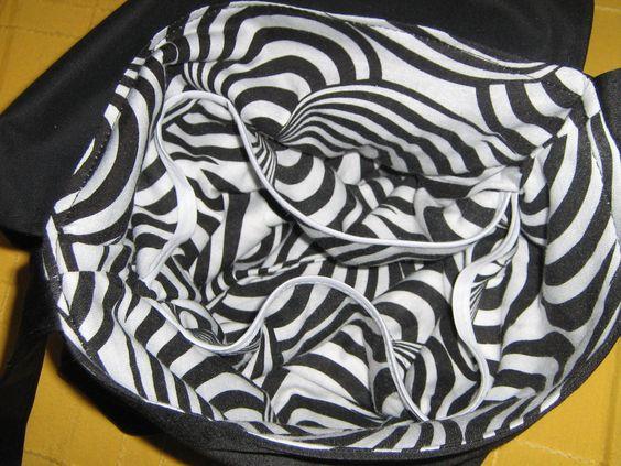 interior negro calaveras