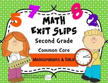2nd grade common core math measurement worksheets