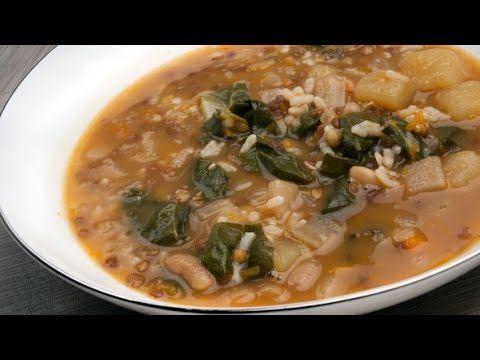 Receta De Olleta Alicantina Karlos Arguiñano çorba Tarifleri Arroz Con Verduras Recetas Vegetarianas Karlos Arguiñano