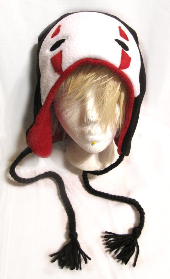No Face / Kaonashi Spirited Away Fleece Hat by ShinyRebellion, $15.00: