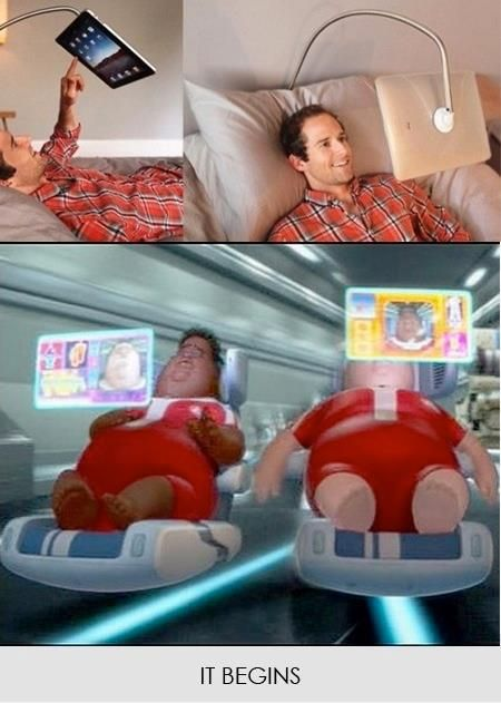 and so it begins...: Giggle, Funny Things, Walle, So True, It S Happening, Movie, Funny Stuff, Wall E