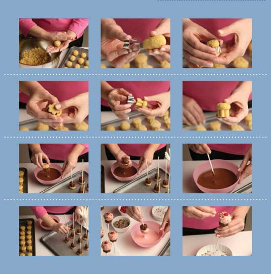 Cake pops recipe with cake mix