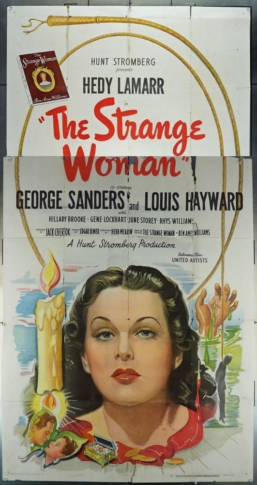 Strange Woman The 1946 9721 Classic Movie Posters Vintage Movies Hooray For Hollywood