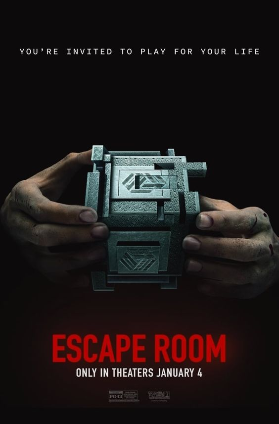 Escape Room 2019 Escape Room Best Horror Movies Thriller Movies